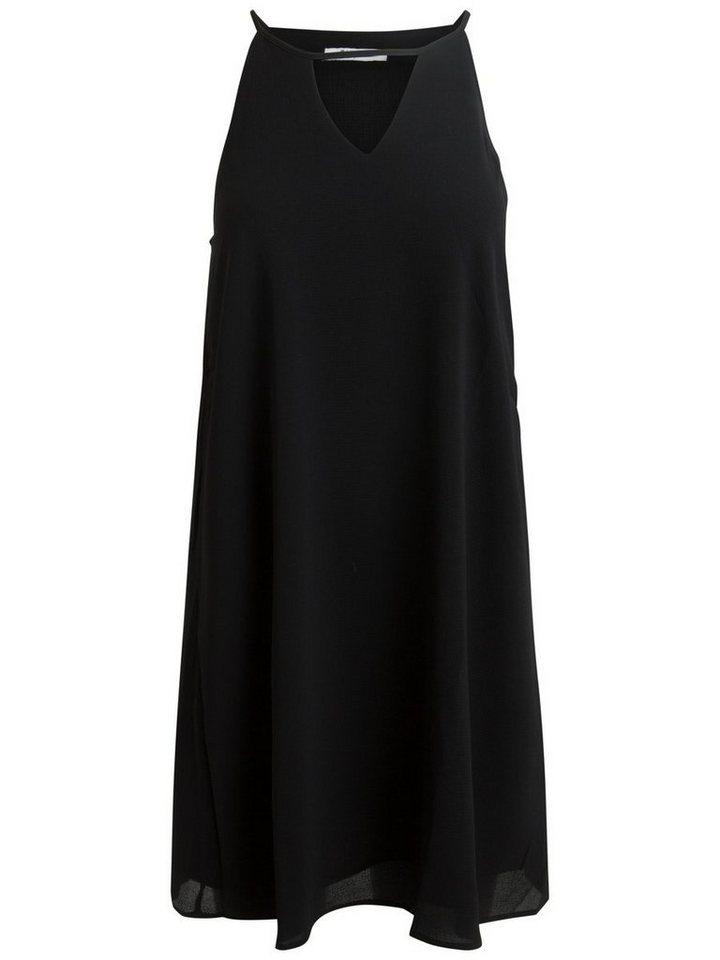 Pieces Mouwloze zomer jurk zwart