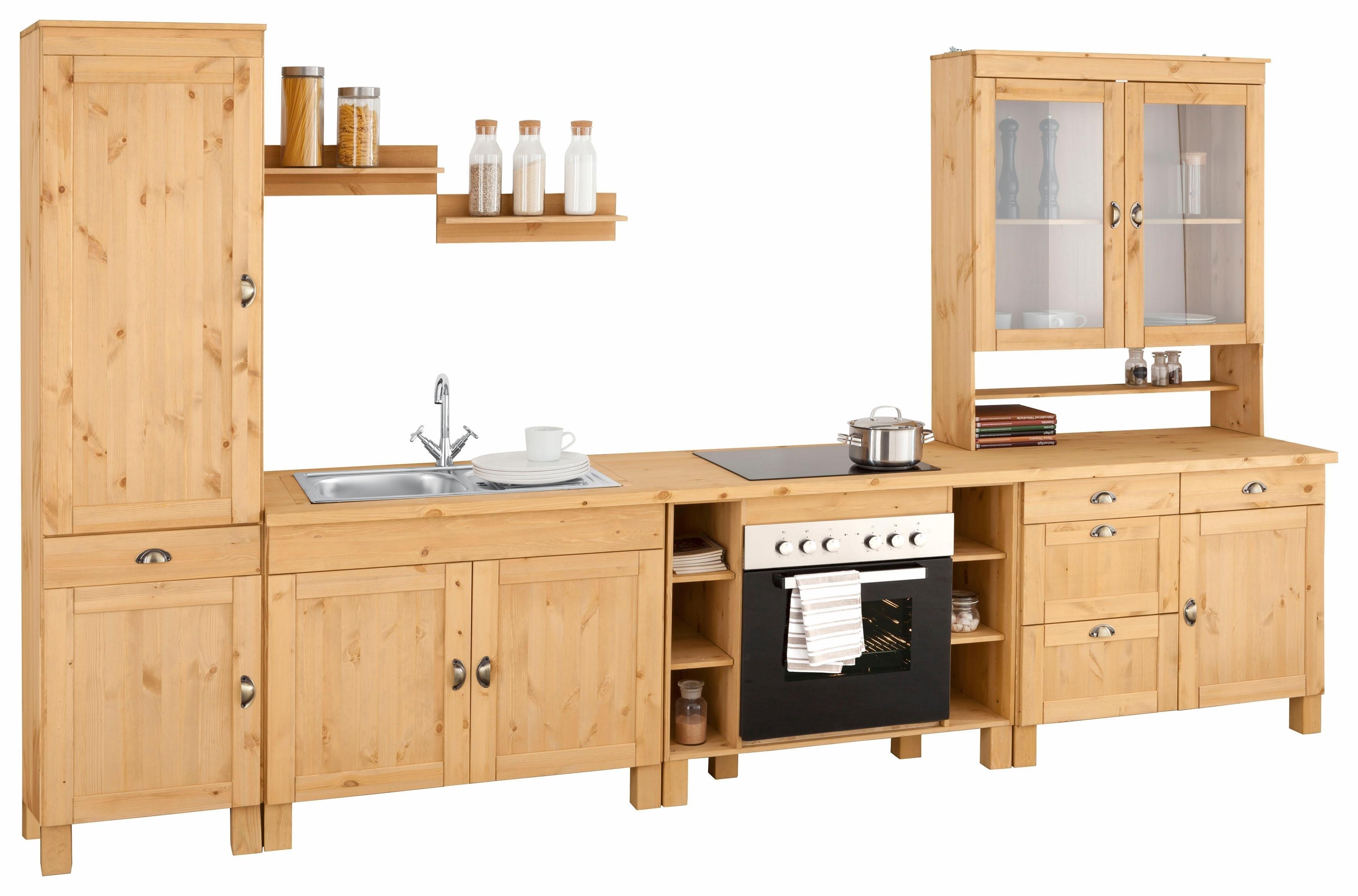 Op zoek naar een Home Affaire Keukenblok »Oslo« zonder elektrische apparatuur, breedte 350 cm? Koop online bij OTTO