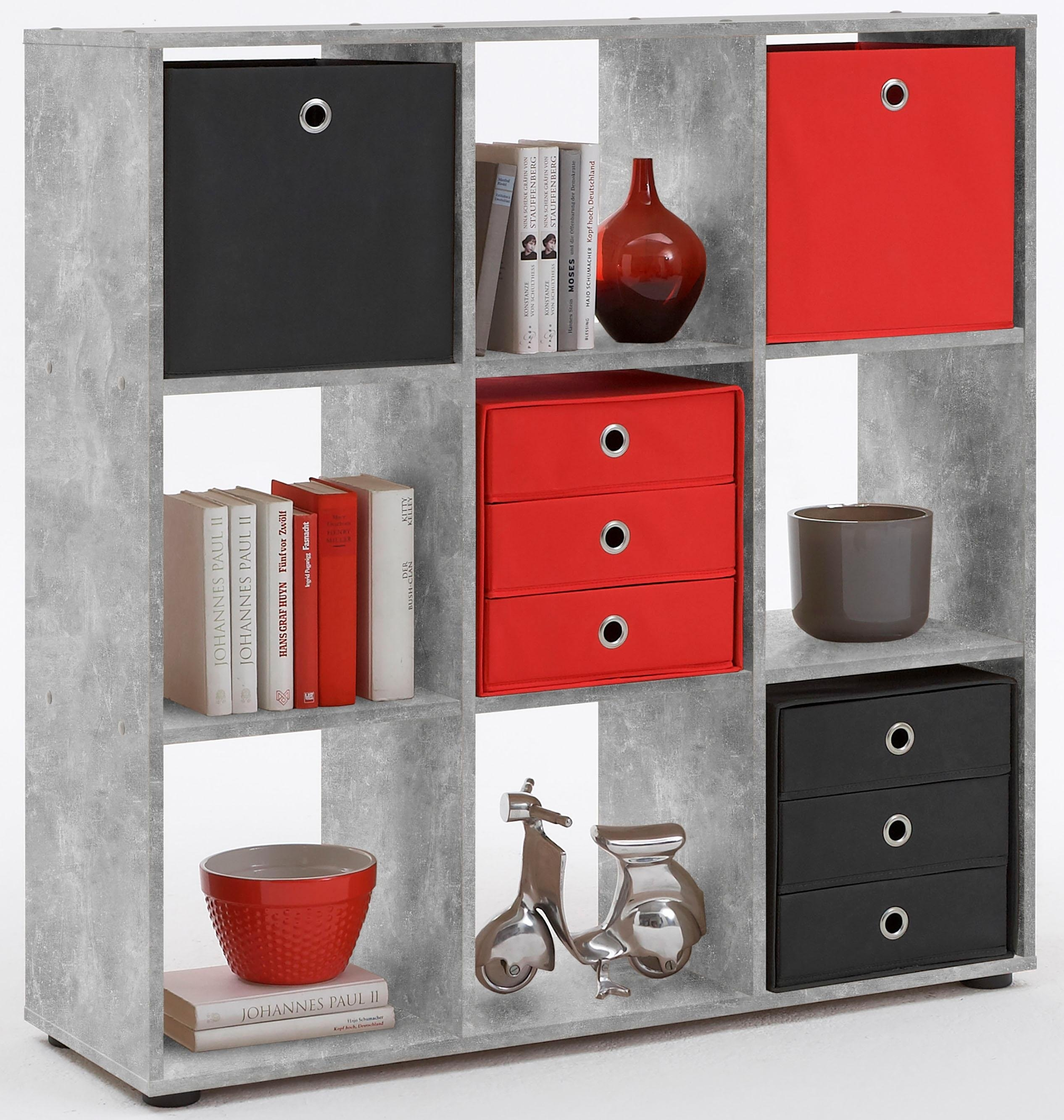 open kast met 9 vakken online shoppen otto. Black Bedroom Furniture Sets. Home Design Ideas