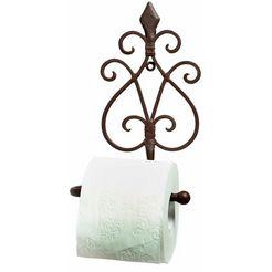 home affaire toiletrolhouder »antiek«, antiek-bruin bruin
