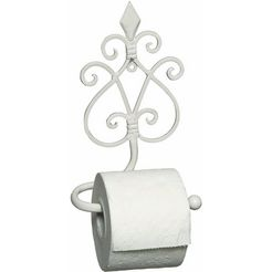 home affaire toiletrolhouder »antiek«, wit wit