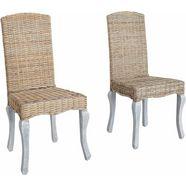 stoelen, home affaire, set van 2 beige