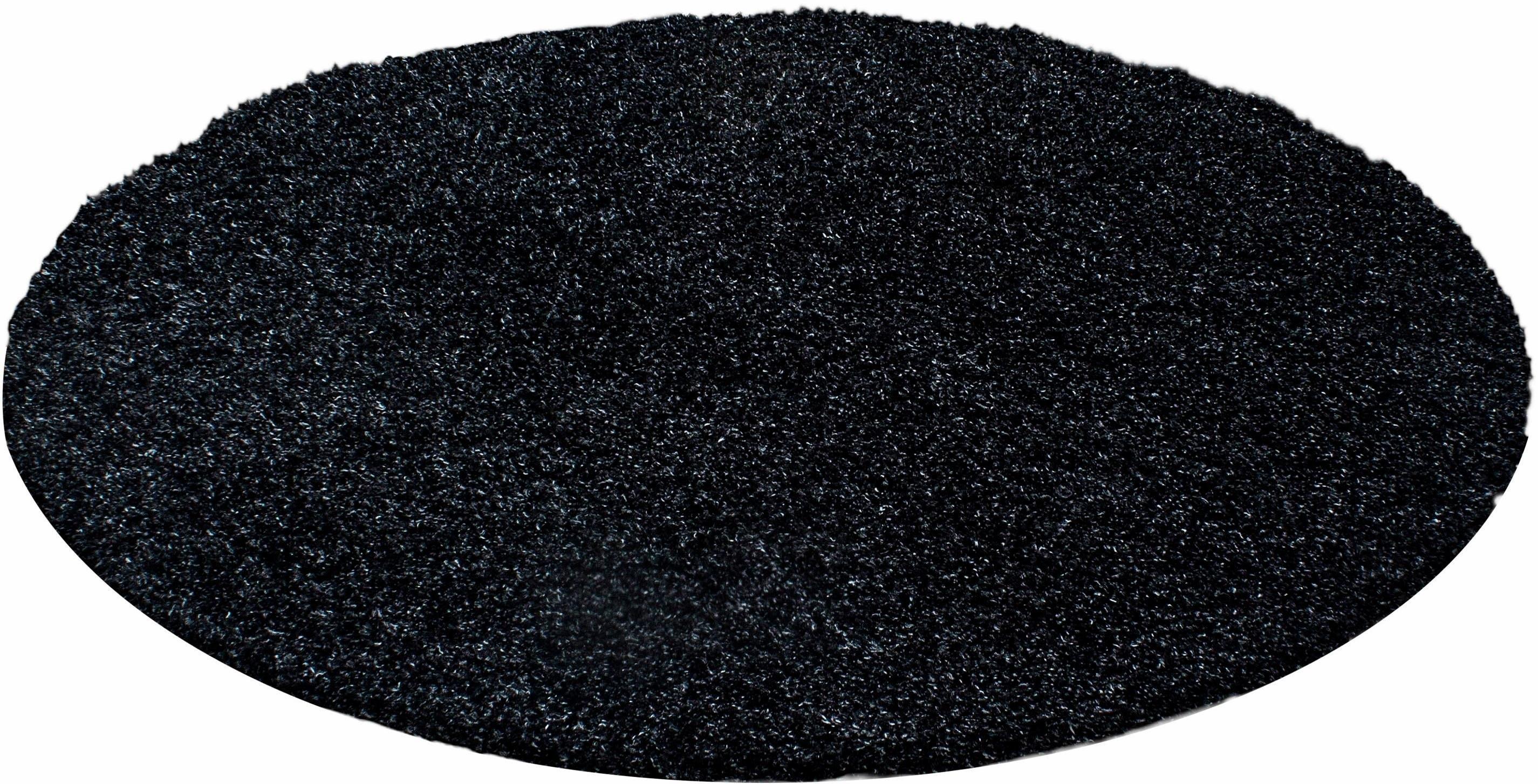 Hoogpolig vloerkleed, rond, Ayyildiz , 'Life shaggy 1500', hoogte 30 mm voordelig en veilig online kopen