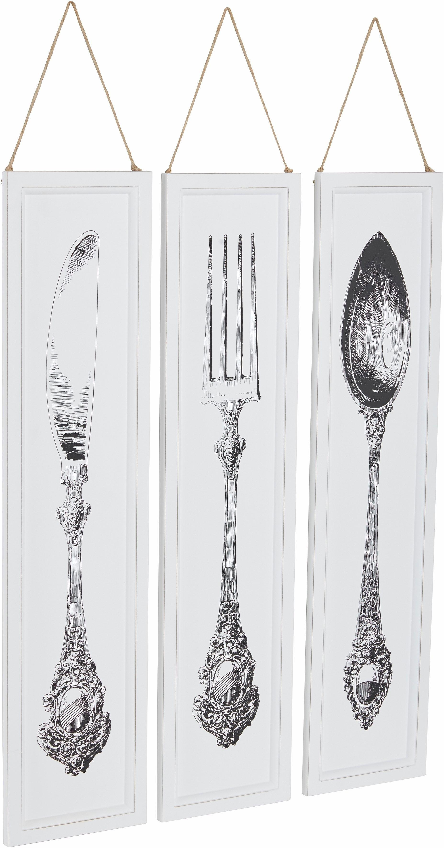 Wanddecoratie Bestek Groot.Home Affaire Artprint Bestek 3 Dlg Makkelijk Besteld Otto