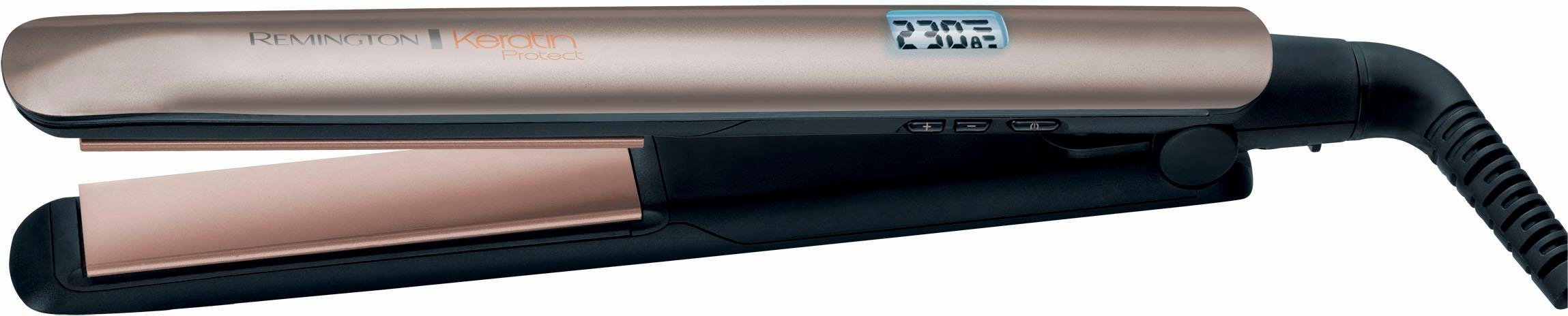 Remington Keratin Protect straightener S8540, opwarmtijd slechts 15 sec. online kopen op otto.nl