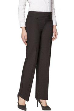 lisette l wide leg »in flatterie fit design« zwart