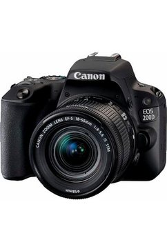 EOS 200D spiegelreflexcamera, EF-S 18-55 mm f/4-5,6 IS STM zoom, 24,2 megapixel