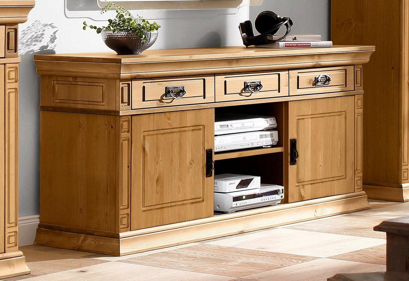HOME AFFAIRE TV-meubel Vinales, breedte 158 cm, met 3 laden