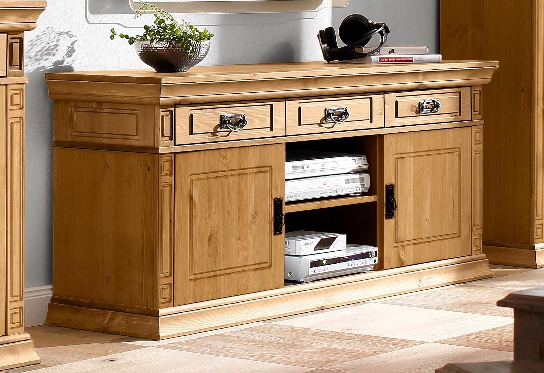 Home Affaire TV-meubel »Vinales«, breedte 158 cm, met 3 laden - gratis ruilen op otto.nl