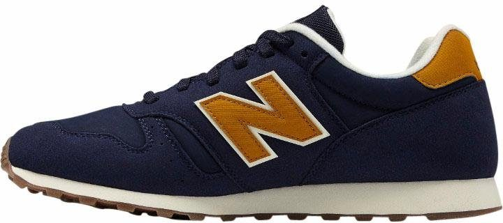 blauwe new balance sneakers
