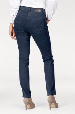 brax slim fit-jeans blauw