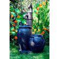 dobar fontein, bxdxh: 47,5x38,5x84 cm zwart