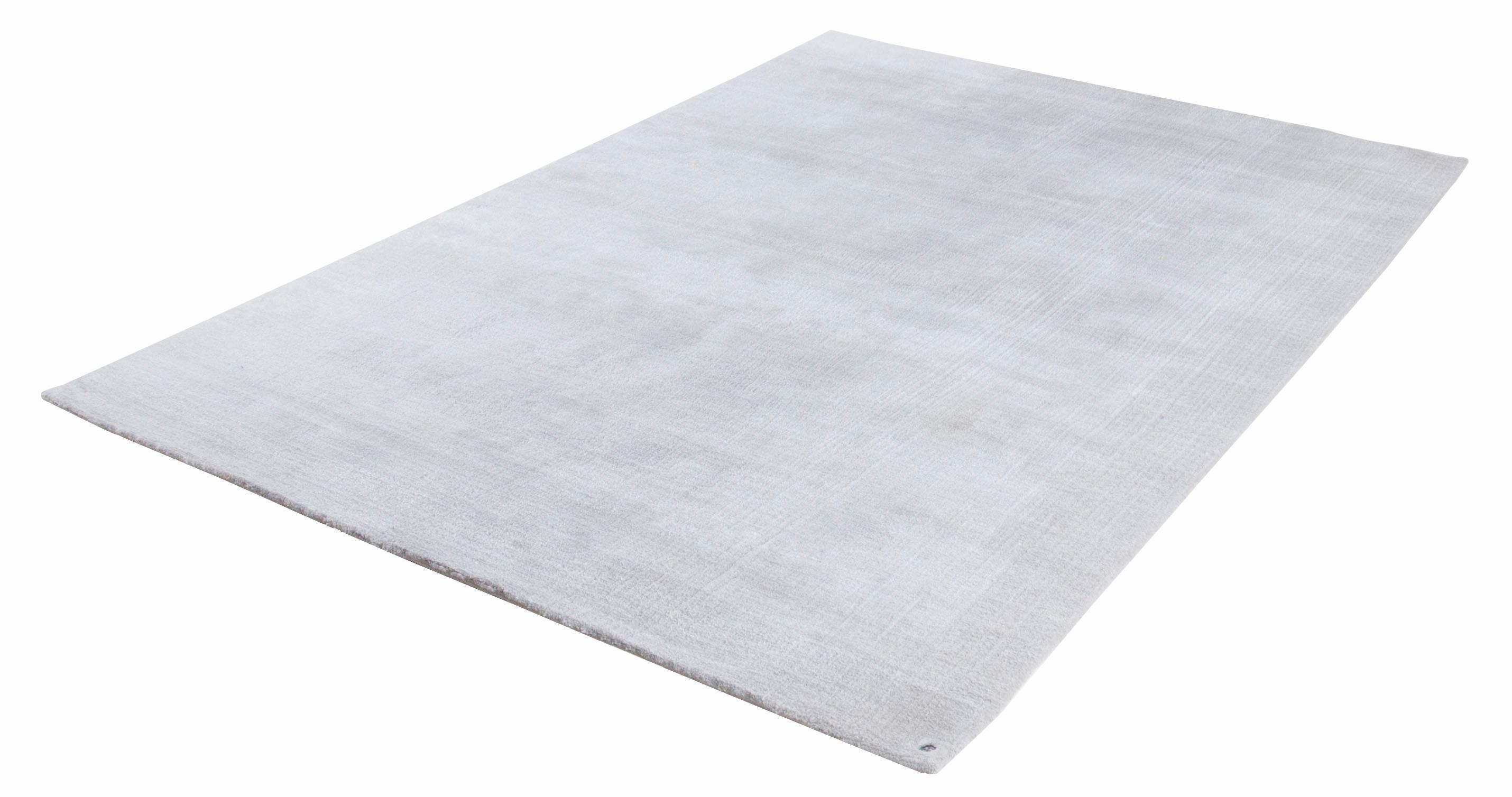 Tom Tailor Vloerkleed, »Powder uni«, rechthoekig, hoogte 12 mm, handgetuft bij OTTO online kopen