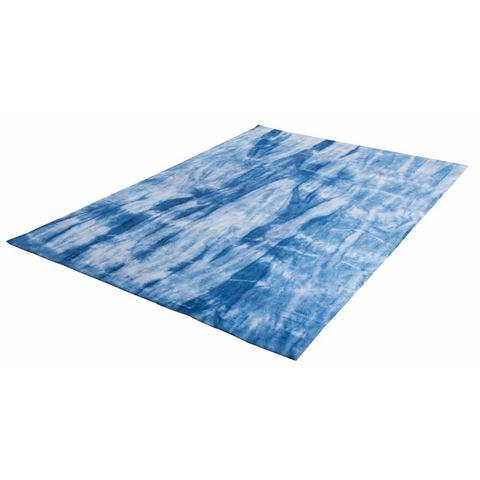 Vloerkleed, Shine Batik, TOM TAILOR, rechthoekig, hoogte 14 mm, handgetuft