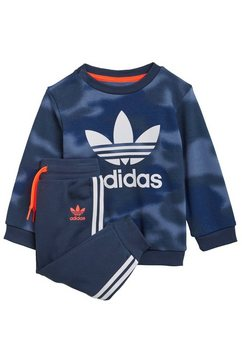 adidas originals joggingpak »allover print camo set« blauw