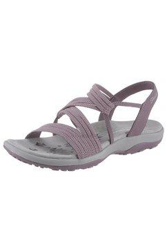 skechers sandalen »reggae slim - skech appeal« paars