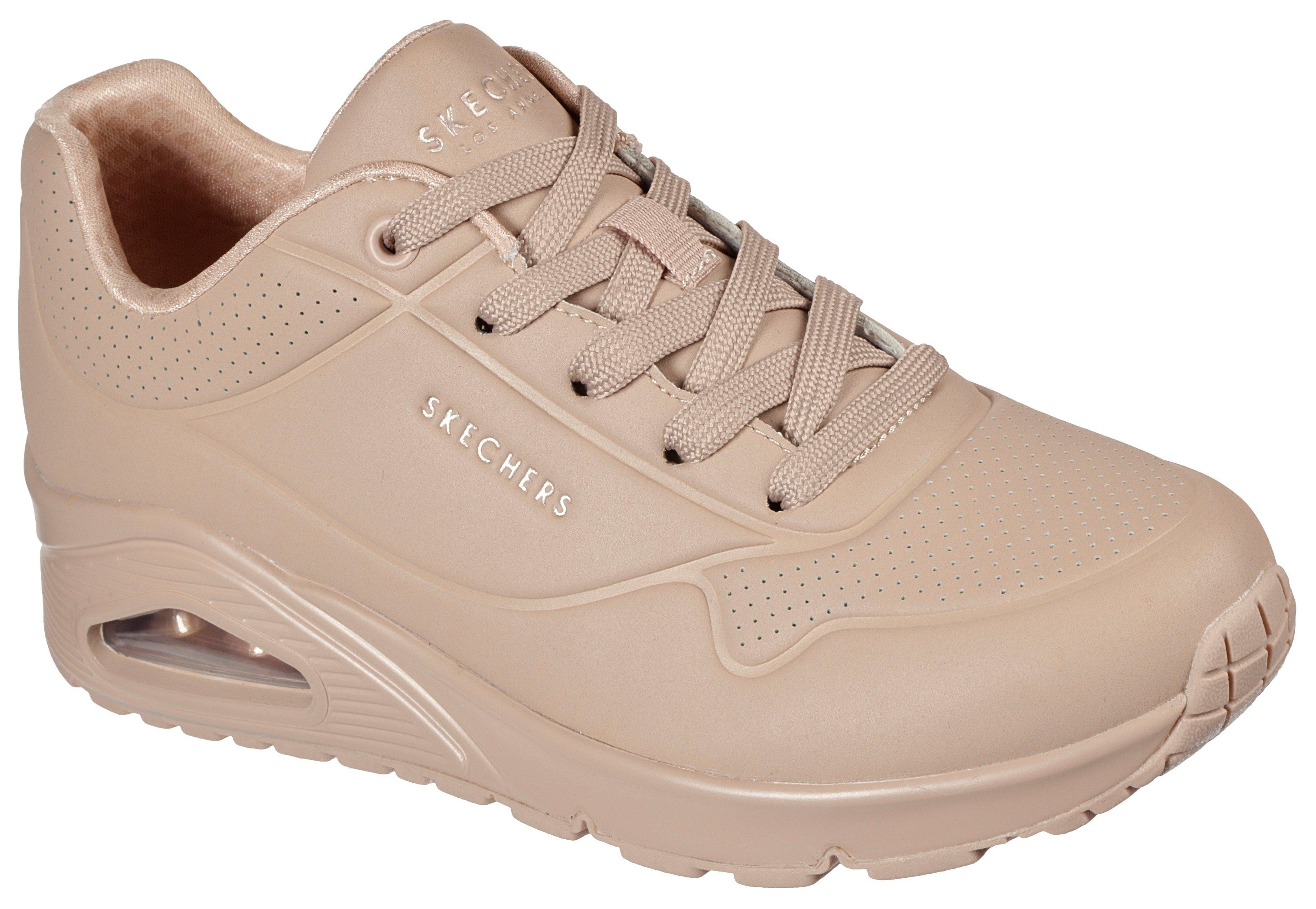 Skechers sneakers met sleehak UNO STAND ON AIR met zacht verdikte binnenzool nu online kopen bij OTTO
