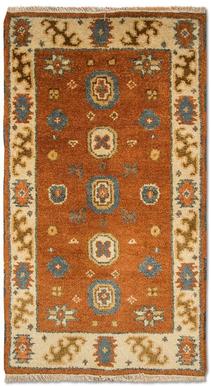 morgenland wollen kleed Kazak Teppich handgeknüpft orange bij OTTO online kopen