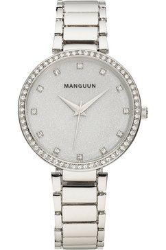 manguun kwartshorloge mula-60815-10m zilver