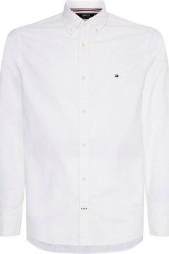 tommy hilfiger overhemd met lange mouwen wit