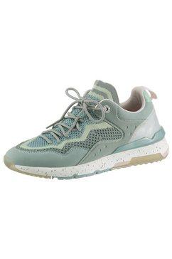 dockers by gerli sneakers in de materiaalmix groen