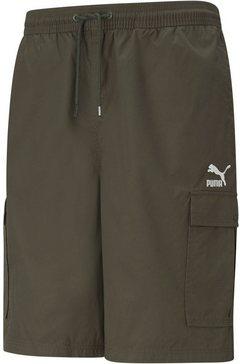 "puma sweatshort »classics cargo shorts 10""« groen"