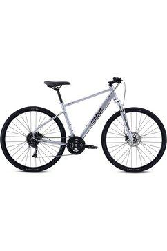 fuji bikes »traverse 1.3« fitnessfiets grijs
