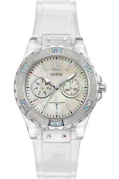 guess multifunctioneel horloge »limelight, gw0041l1« wit