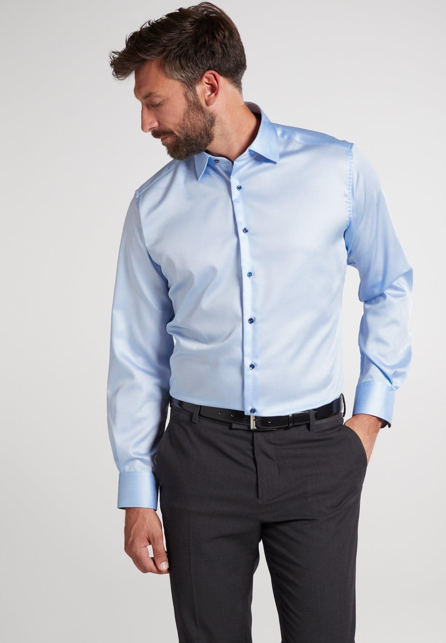 Eterna businessoverhemd MODERN FIT Lange mouwen voordelig en veilig online kopen