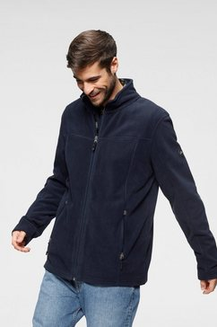 polarino fleece-jasje met staande kraag blauw