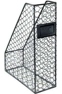 ambiente haus organizer folderstandaard - grijs 33 cm (1 stuk) grijs