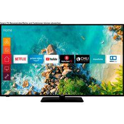 telefunken »d58u553m1cw« led-tv zwart