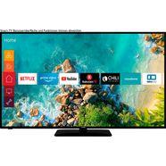 "telefunken led-tv d58u553m1cw, 146 cm - 58 "", 4k ultra hd, smart-tv zwart"