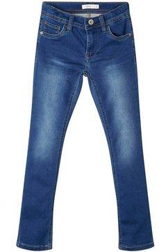 name it stretch jeans blauw