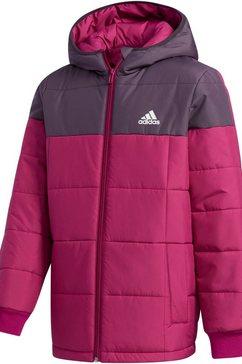 adidas performance gewatteerde jas »kids jacket padding« paars