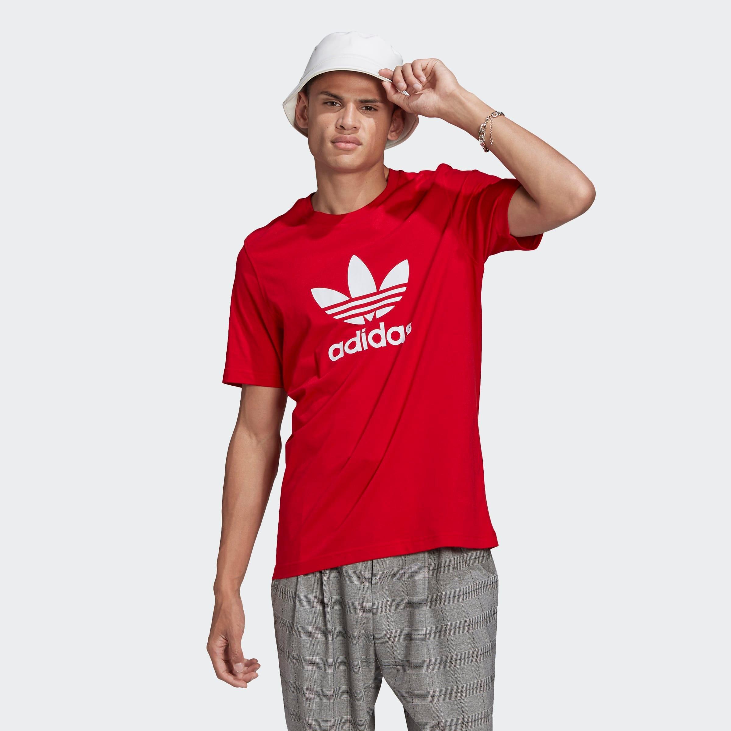 adidas Originals T-shirt »TREFOIL T-SHIRT« nu online kopen bij OTTO
