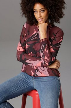 aniston selected shirtblouse paars