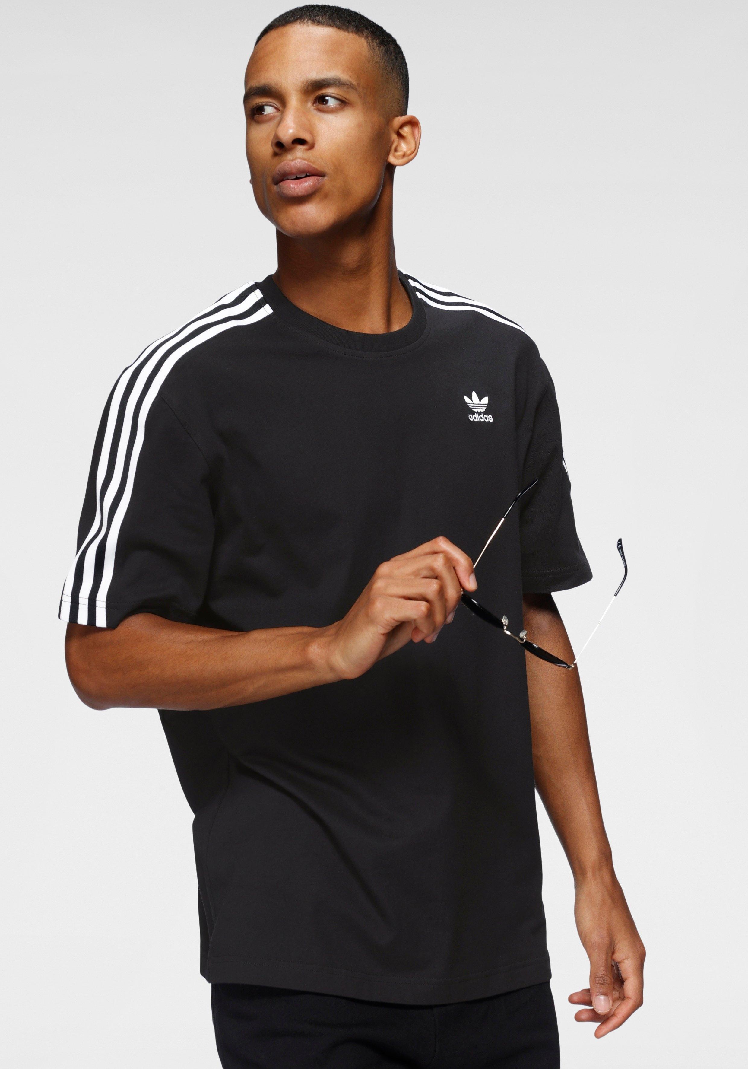 adidas Originals T-shirt »ADICOLOR 3D TREFOIL 3-STREIFEN« - gratis ruilen op otto.nl