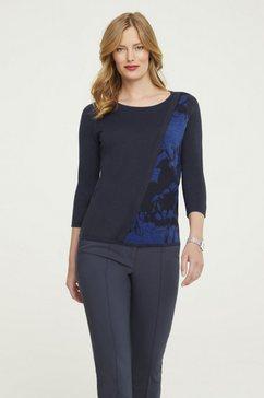 pullover blauw