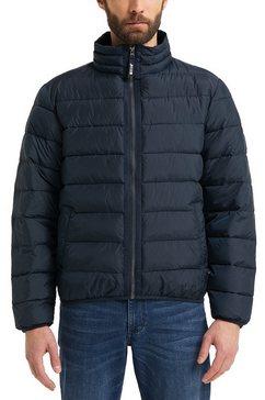 mustang gewatteerde jas daniel light padded blauw