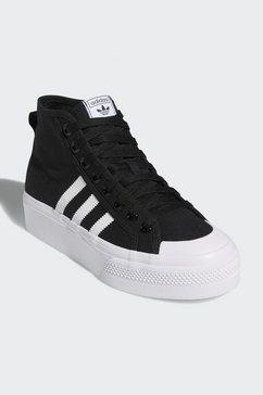 adidas originals sneakers »nizza platform mid« zwart