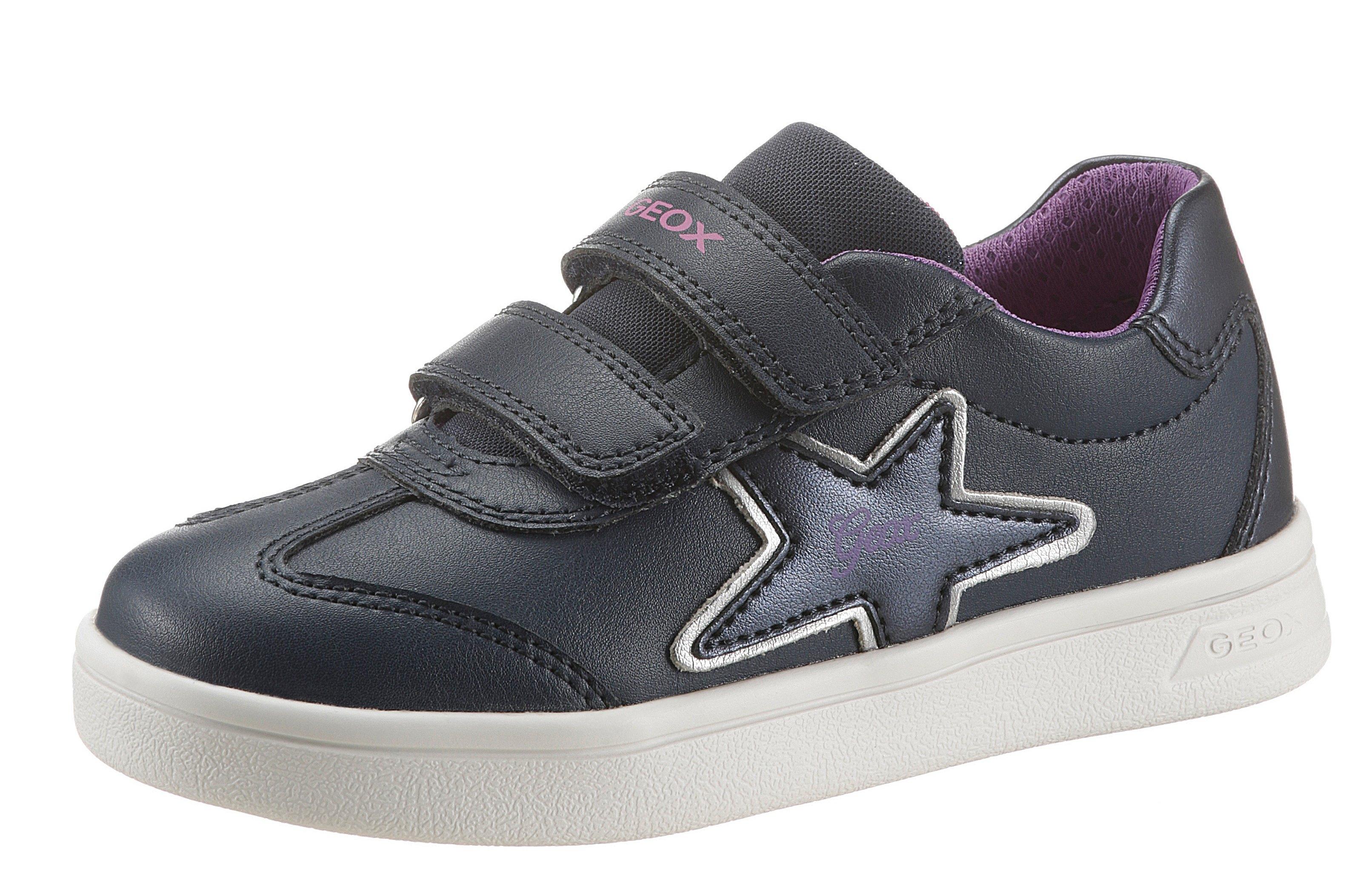 Geox Kids sneakers J Djrock Girl met een dubbele klittenbandsluiting bij OTTO online kopen