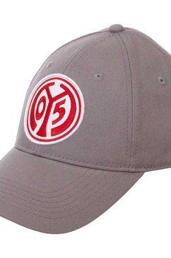 kappa baseballcap »mainz 05« grijs