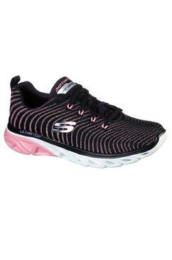 skechers sneakers »glide step sport« zwart