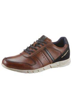 bugatti sneakers »wombola« bruin