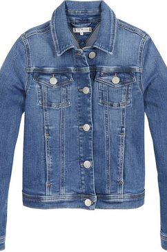 tommy hilfiger jeansjack »regular trucker« blauw