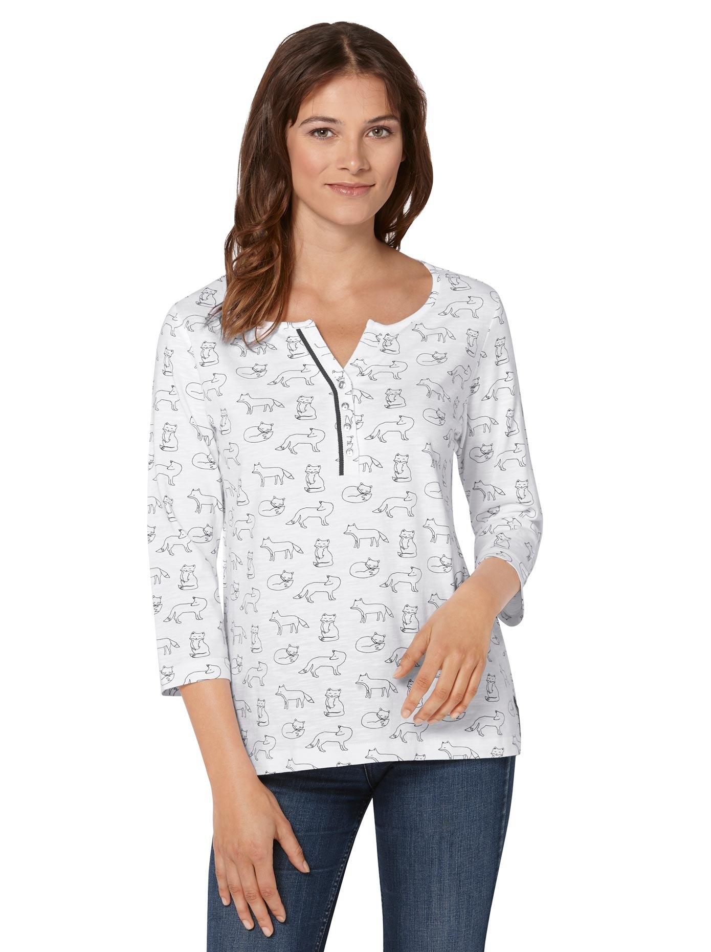 Ambria shirt met 3/4-mouwen veilig op otto.nl kopen