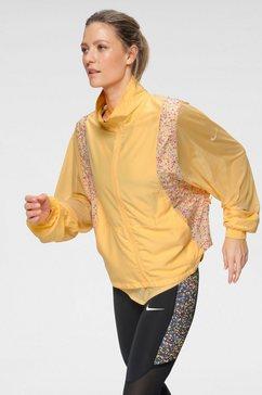 nike runningjack »nike icon clash women's running jacket« geel