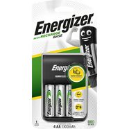energizer »base ladegeraet inkl. 4x aa 1300 mah« batterij