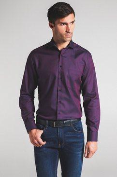 eterna overhemd met lange mouwen »modern fit« rood